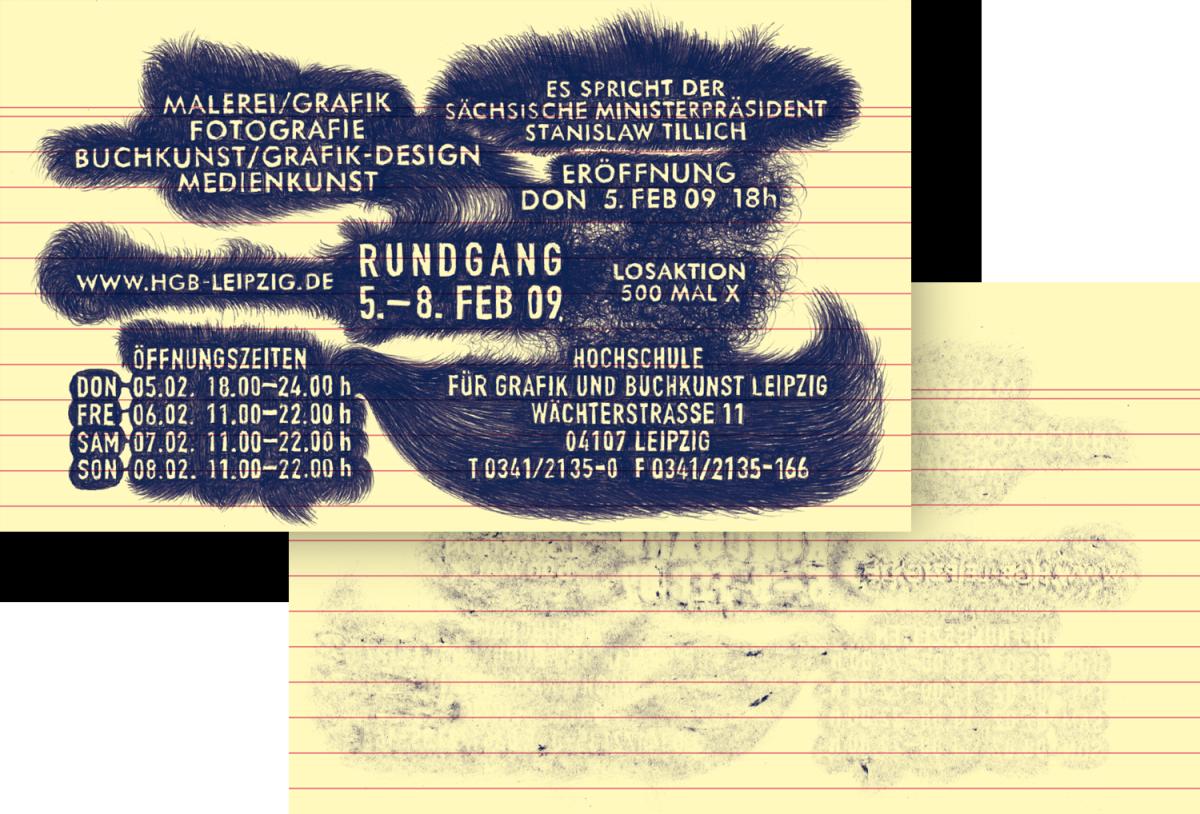 Lamm-Kirch_Academy-of-visual-Arts-Rundgang2009-Flyer