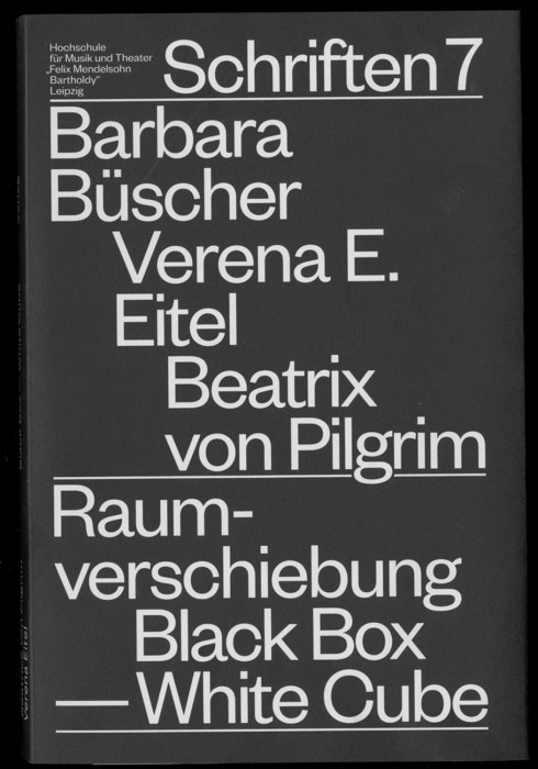 Raumverschiebung: White Cube, Black Box