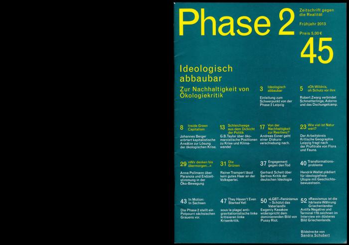 Phase 2 – 2013