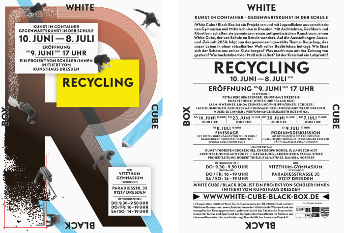 White Cube Black Box – Recycling