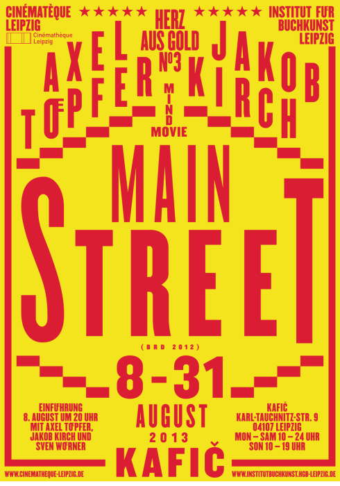 Main Street Exhibition Poster