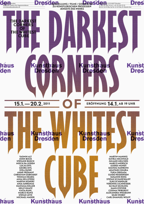Kunsthaus Dresden - Darkest Corner of the Whitest Cube