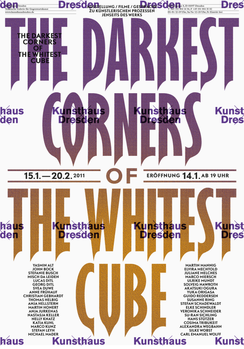 the_darkest_corners_of_the_whitest_cube_kunsthaus_dresden_poster