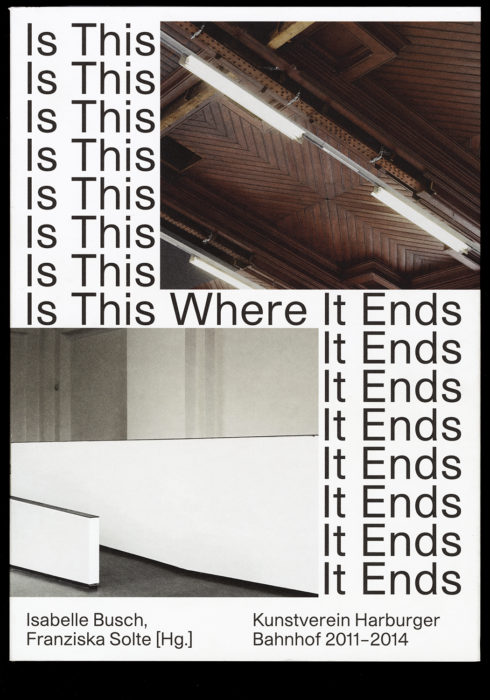 Kunstverein Harburger Bahnhof – Is This Where It Ends?