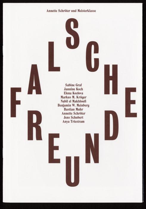 Annette Schroter – Falsche Freunde
